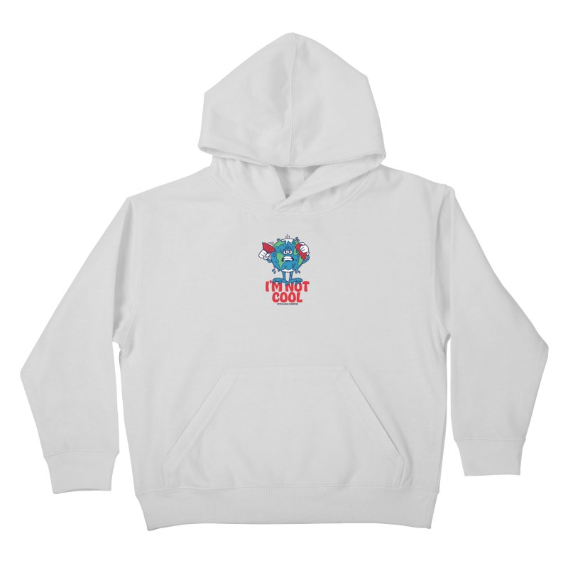 I'm Not Cool Kids Pullover Hoody by dustinwyattdesign's Shop