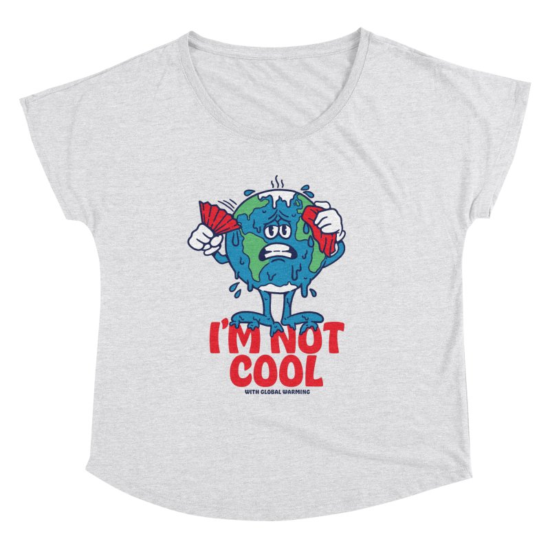 I'm Not Cool Women's Scoop Neck by dustinwyattdesign's Shop
