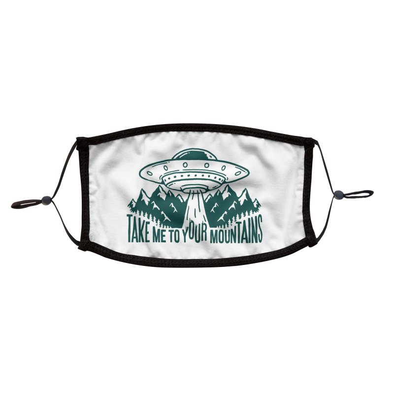 Take Me To Your Mountains Accessories Face Mask by dustinwyattdesign's Shop