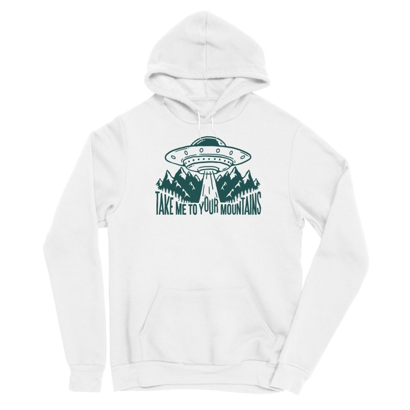 Take Me To Your Mountains Men's Pullover Hoody by dustinwyattdesign's Shop