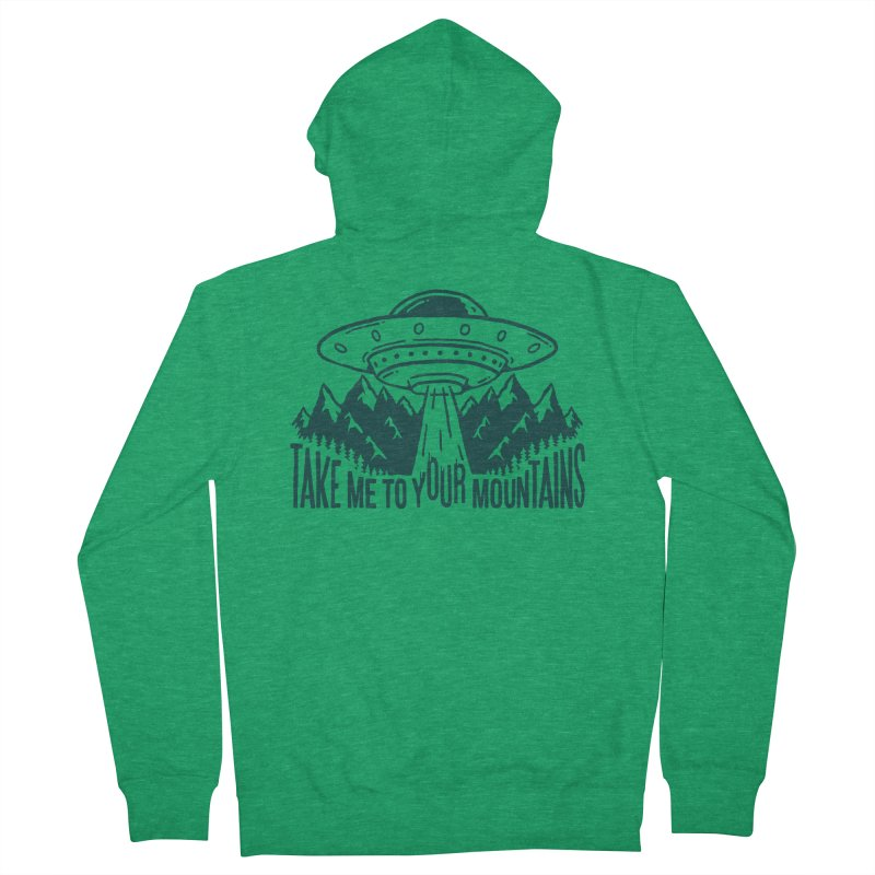 Take Me To Your Mountains Women's Zip-Up Hoody by dustinwyattdesign's Shop