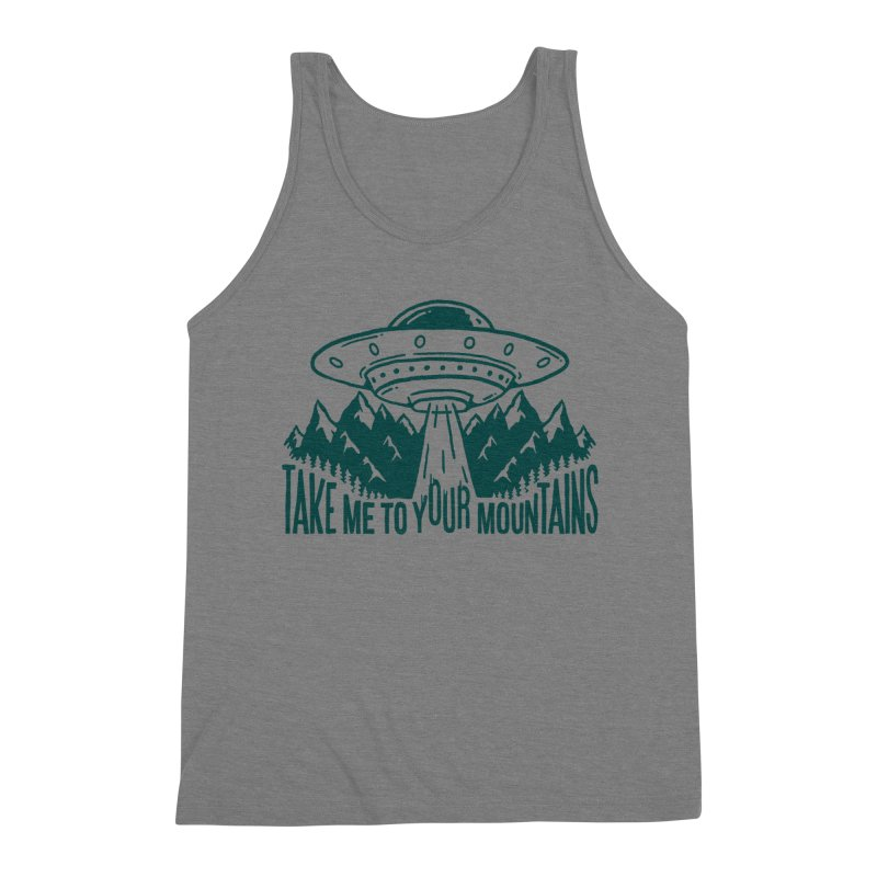 Take Me To Your Mountains Men's Tank by dustinwyattdesign's Shop