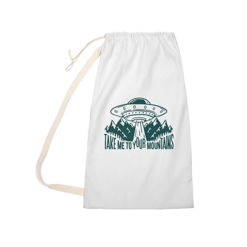 Take Me To Your Mountains Accessories Bag by dustinwyattdesign's Shop