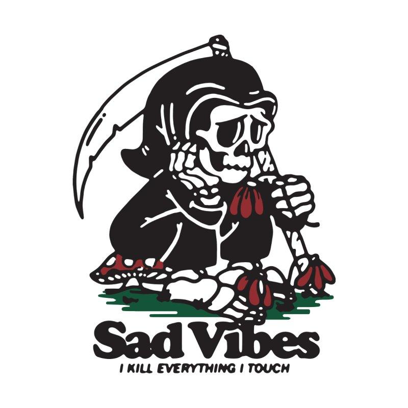 Sad Vibes Kids Baby Longsleeve Bodysuit by dustinwyattdesign's Shop