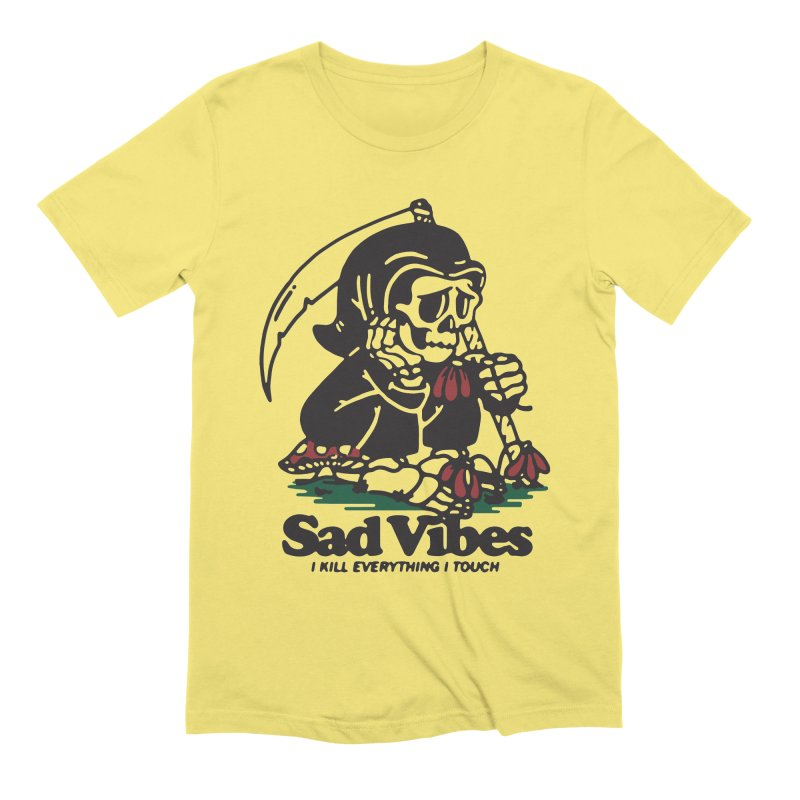 Sad Vibes Men's T-Shirt by dustinwyattdesign's Shop