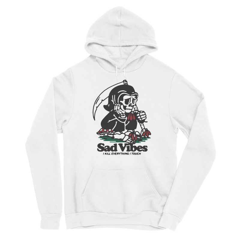 Sad Vibes Women's Pullover Hoody by dustinwyattdesign's Shop