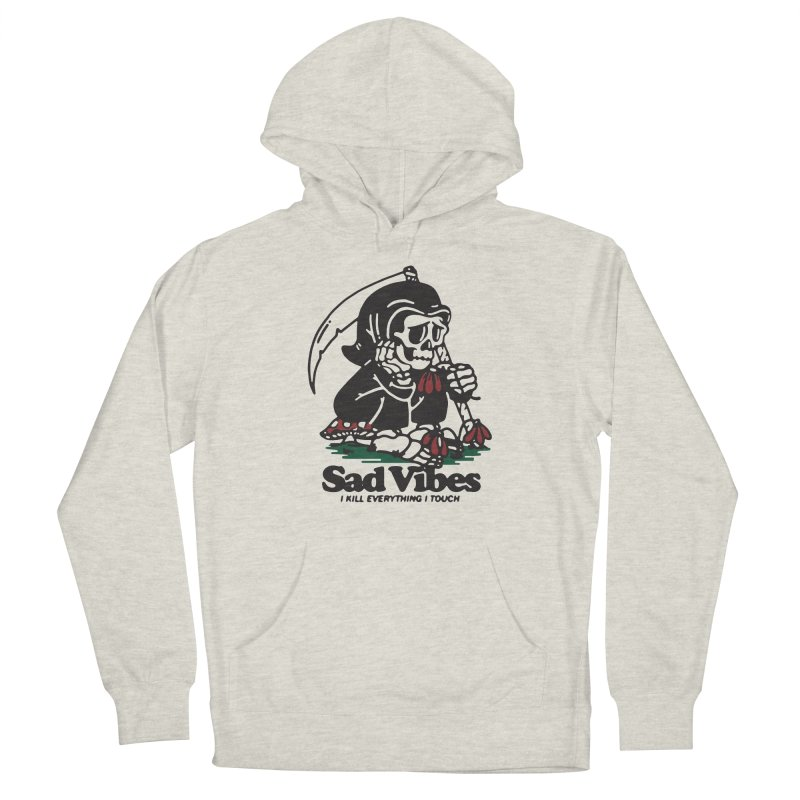 Sad Vibes Men's Pullover Hoody by dustinwyattdesign's Shop
