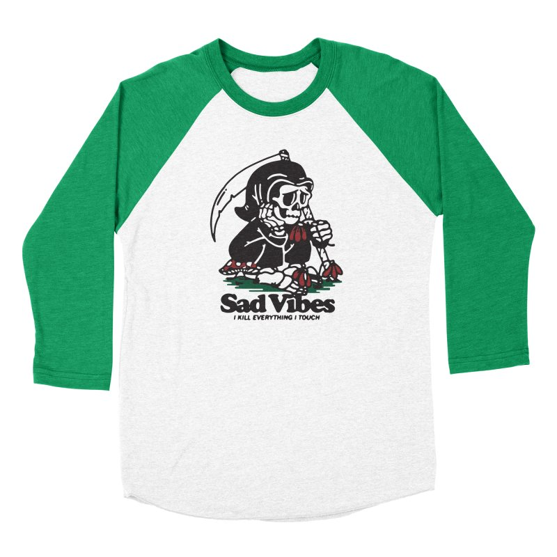 Sad Vibes Men's Longsleeve T-Shirt by dustinwyattdesign's Shop