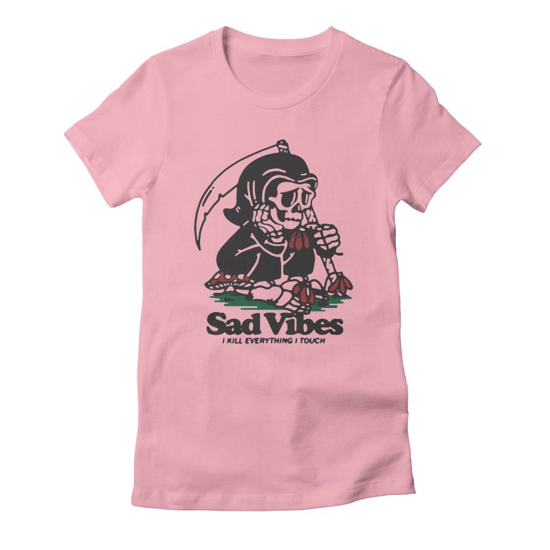 Sad Vibes Women's T-Shirt by dustinwyattdesign's Shop