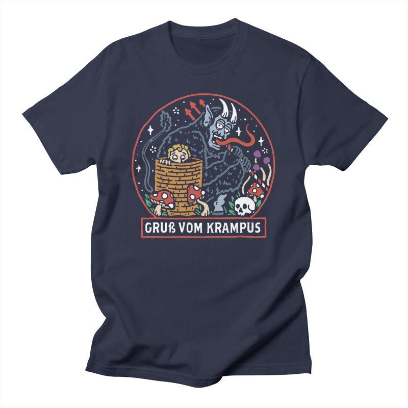 Gruß vom Krampus Men's T-Shirt by dustinwyattdesign's Shop