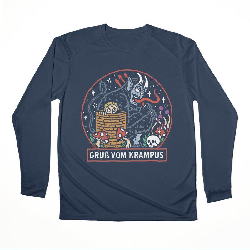 Gruß vom Krampus Men's Longsleeve T-Shirt by dustinwyattdesign's Shop