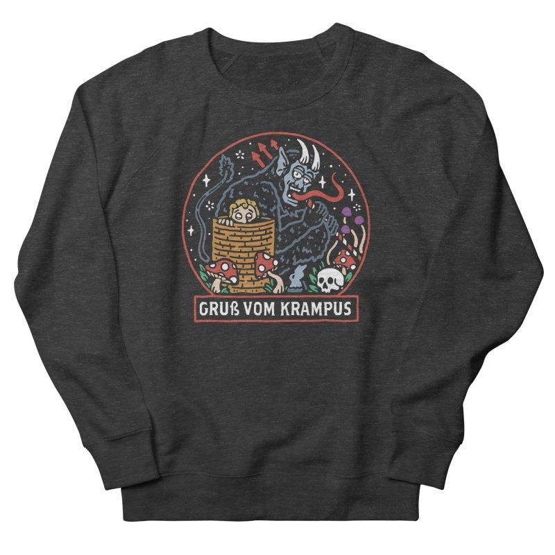 Gruß vom Krampus Women's Sweatshirt by dustinwyattdesign's Shop