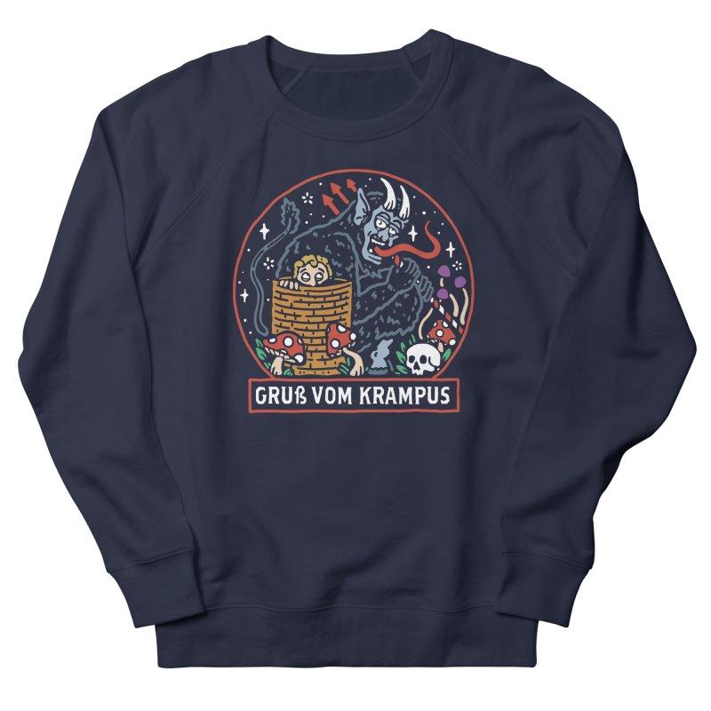 Gruß vom Krampus Men's Sweatshirt by dustinwyattdesign's Shop
