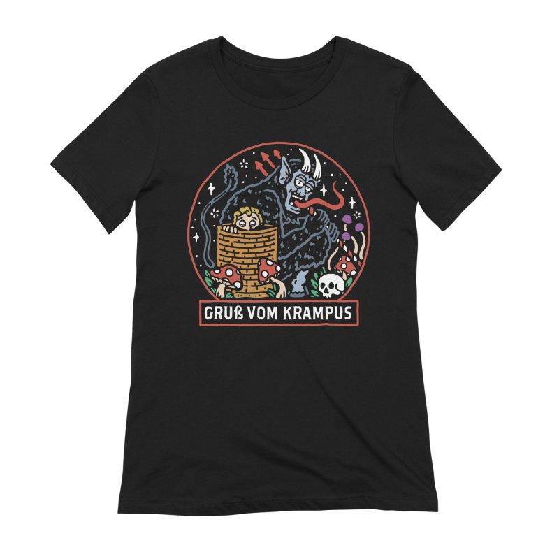 Gruß vom Krampus Women's T-Shirt by dustinwyattdesign's Shop