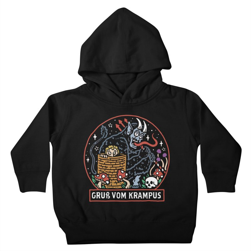 Gruß vom Krampus Kids Toddler Pullover Hoody by dustinwyattdesign's Shop