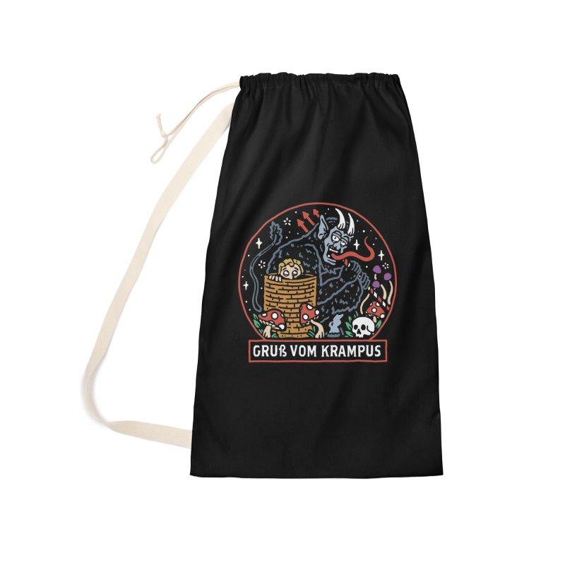 Gruß vom Krampus Accessories Bag by dustinwyattdesign's Shop