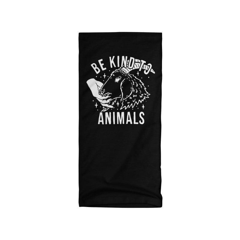 Be Kind to Animals Accessories Neck Gaiter by dustinwyattdesign's Shop