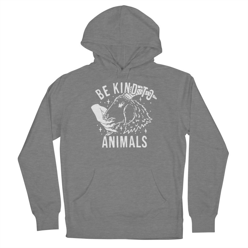 Be Kind to Animals Men's Pullover Hoody by dustinwyattdesign's Shop