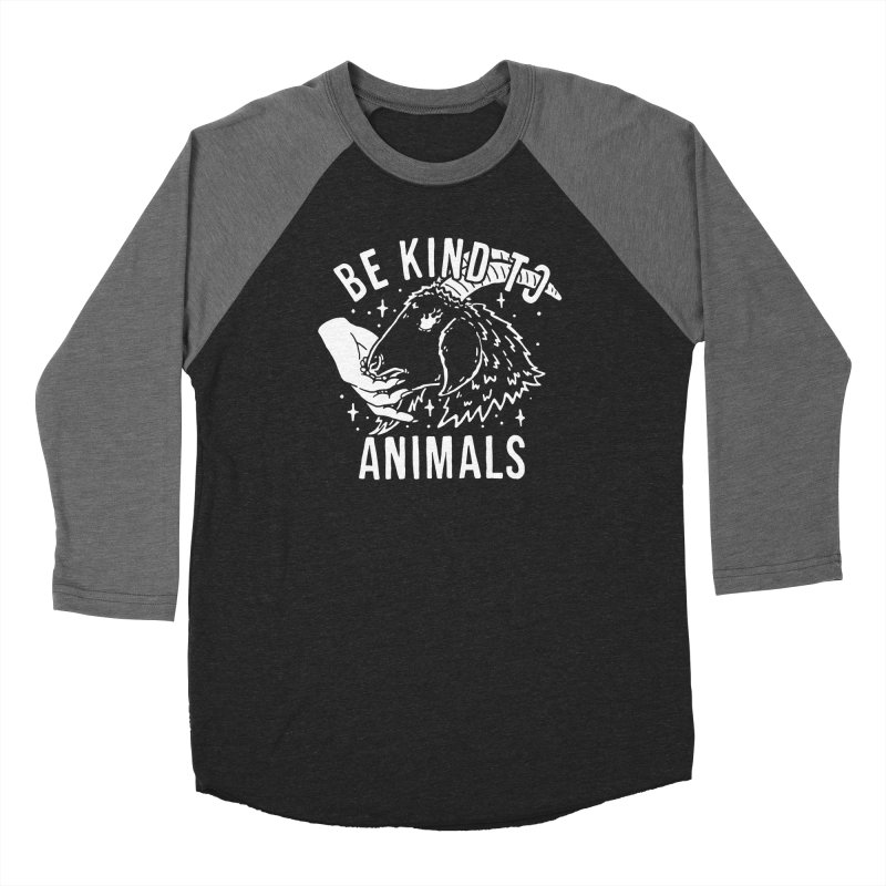 Be Kind to Animals Women's Longsleeve T-Shirt by dustinwyattdesign's Shop