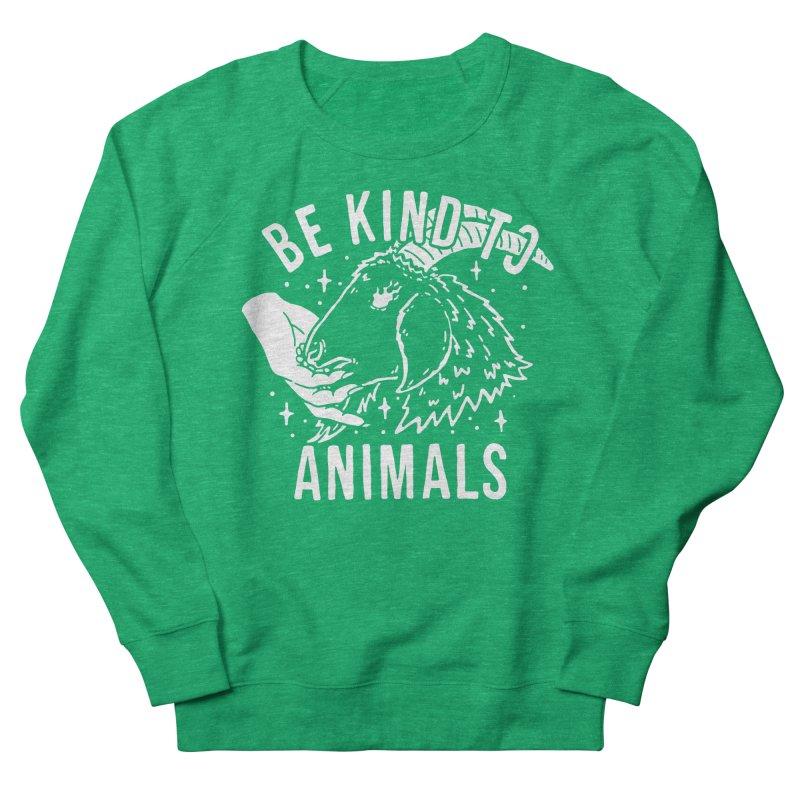 Be Kind to Animals Women's Sweatshirt by dustinwyattdesign's Shop
