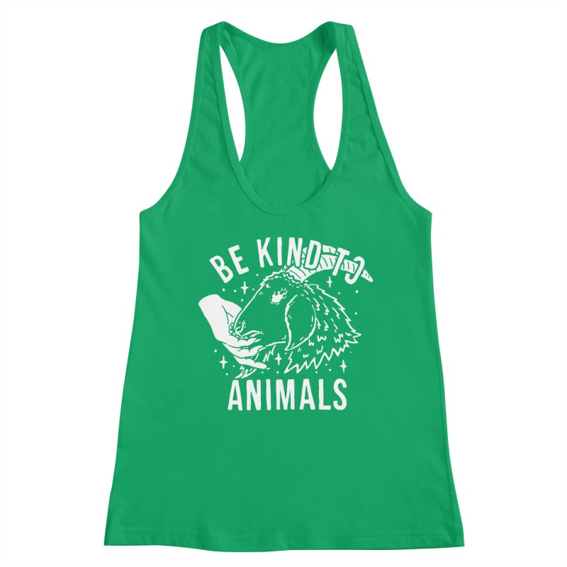 Be Kind to Animals Women's Tank by dustinwyattdesign's Shop