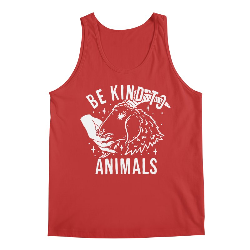 Be Kind to Animals Men's Tank by dustinwyattdesign's Shop