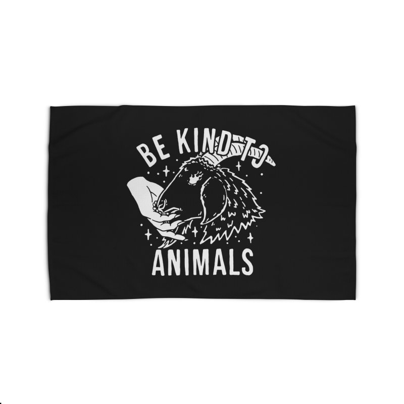Be Kind to Animals Home Rug by dustinwyattdesign's Shop