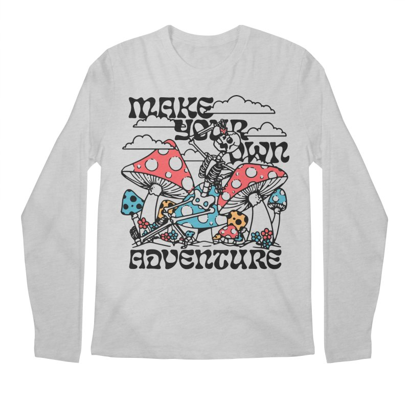 Make Your Own Adventure Men's Longsleeve T-Shirt by dustinwyattdesign's Shop
