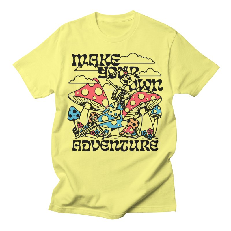 Make Your Own Adventure Men's T-Shirt by dustinwyattdesign's Shop