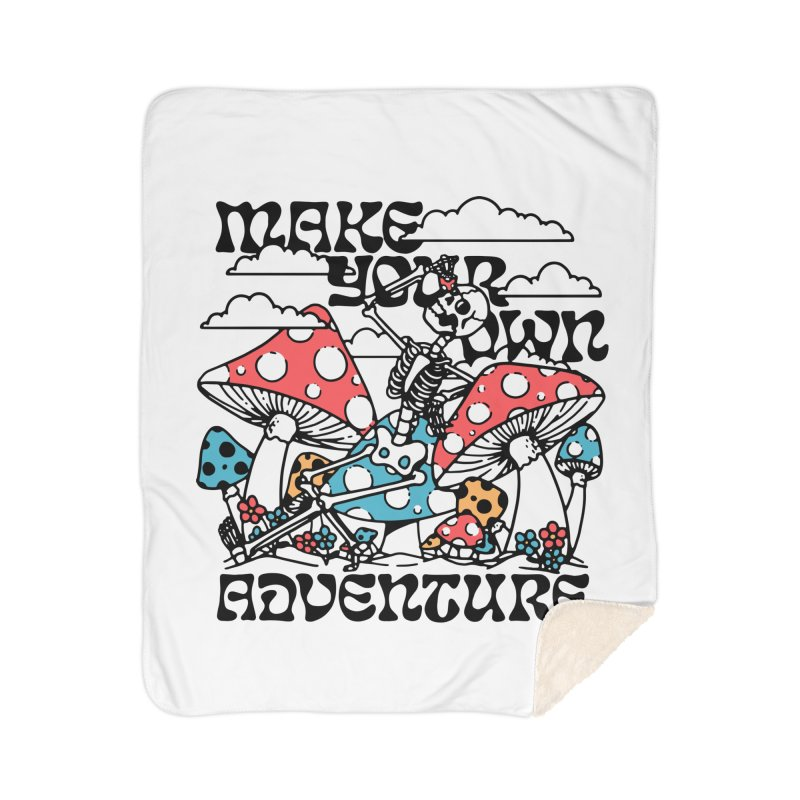 Make Your Own Adventure Home Blanket by dustinwyattdesign's Shop