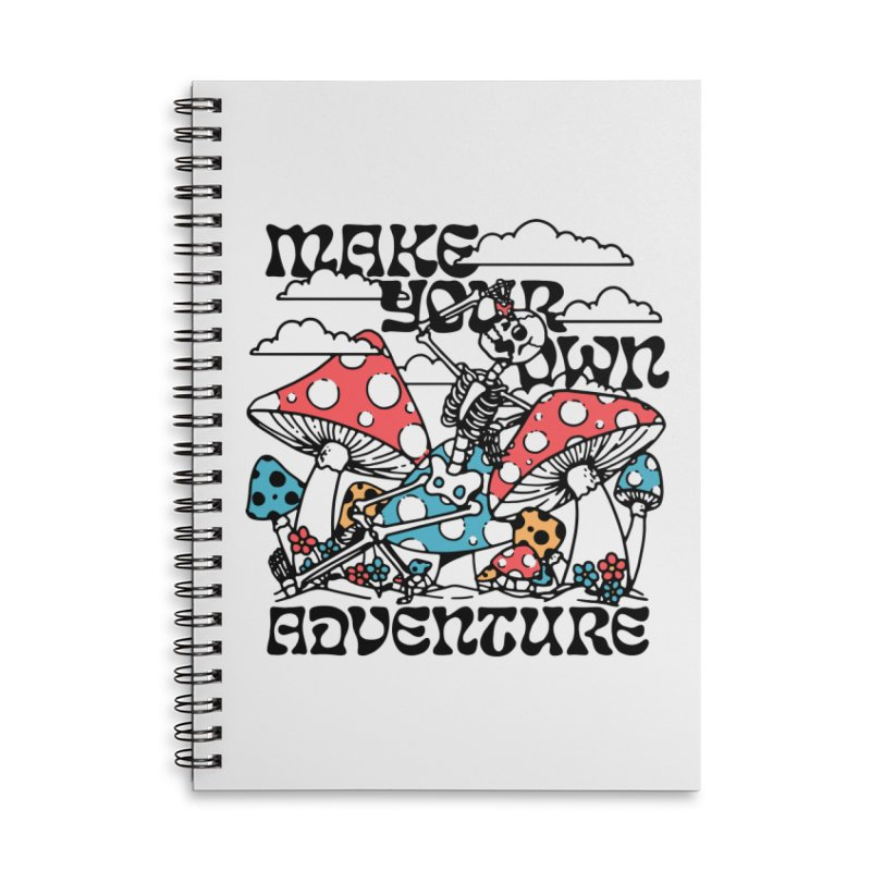 Make Your Own Adventure Accessories Notebook by dustinwyattdesign's Shop