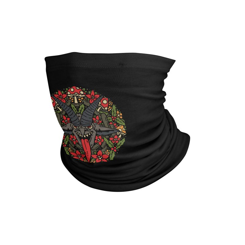 PentaKrampus Accessories Neck Gaiter by dustinwyattdesign's Shop