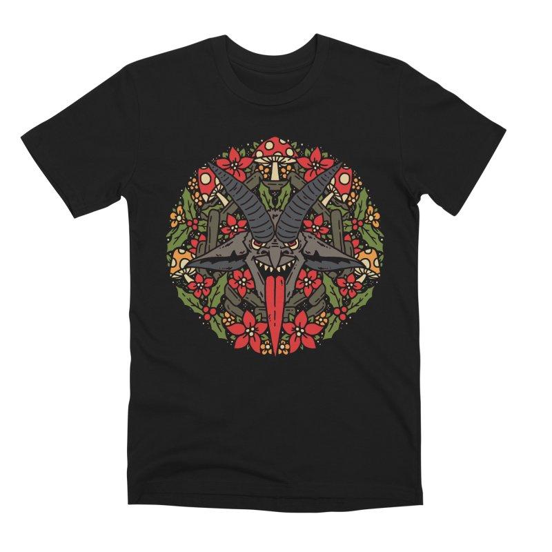 PentaKrampus Men's T-Shirt by dustinwyattdesign's Shop