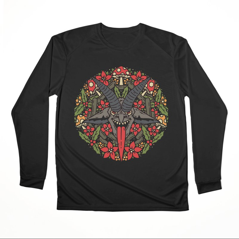 PentaKrampus Women's Longsleeve T-Shirt by dustinwyattdesign's Shop