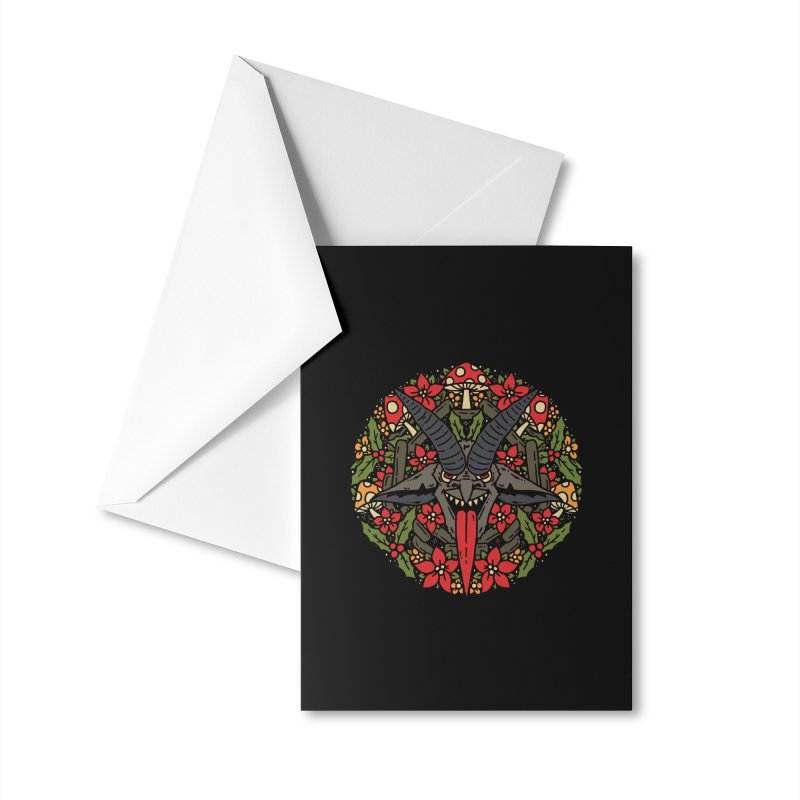 PentaKrampus Accessories Greeting Card by dustinwyattdesign's Shop