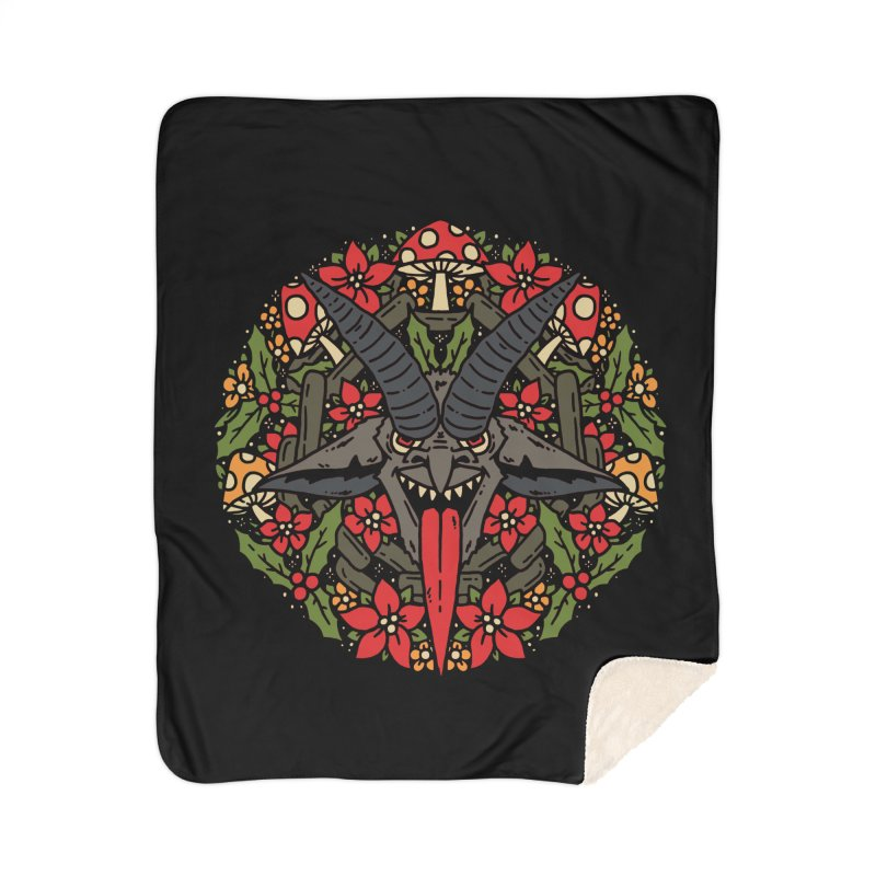 PentaKrampus Home Blanket by dustinwyattdesign's Shop