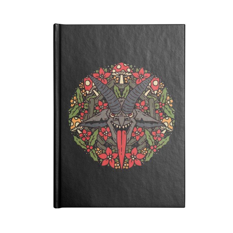 PentaKrampus Accessories Notebook by dustinwyattdesign's Shop