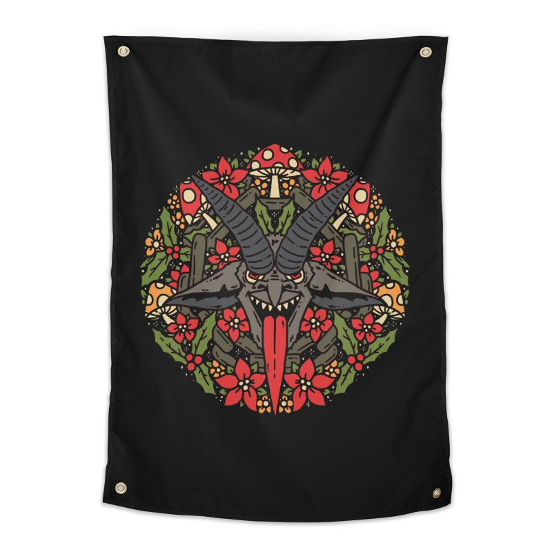 PentaKrampus Home Tapestry by dustinwyattdesign's Shop