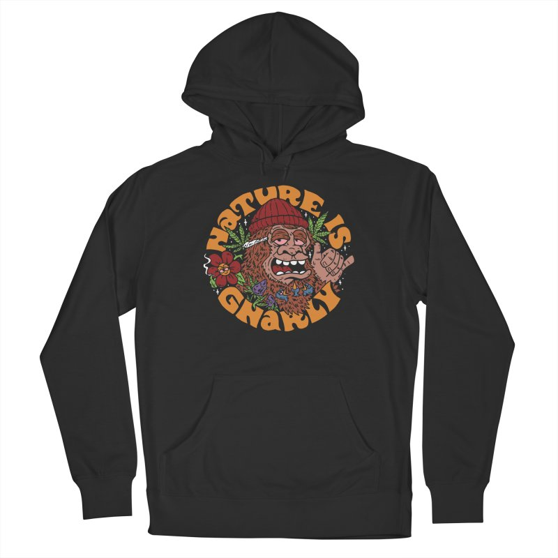 Nature is Gnarly Men's Pullover Hoody by dustinwyattdesign's Shop