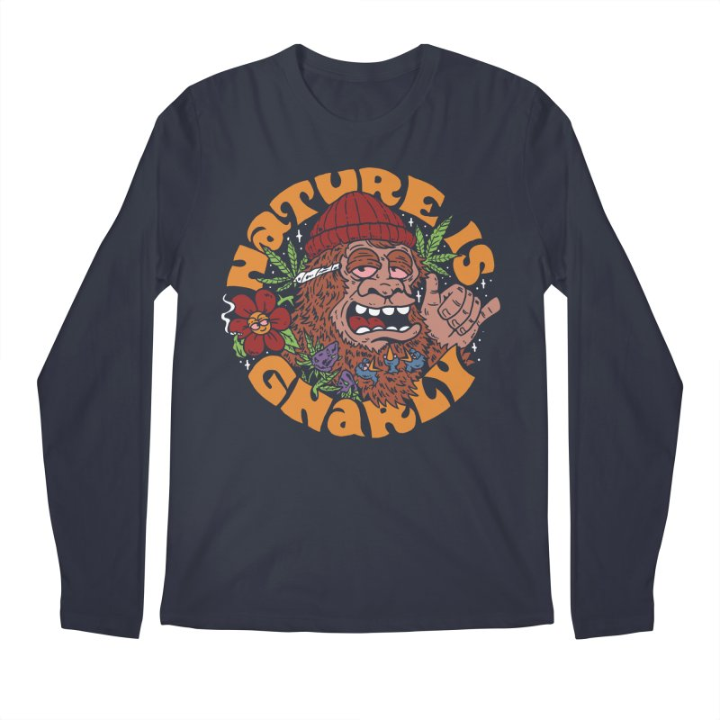 Nature is Gnarly Men's Longsleeve T-Shirt by dustinwyattdesign's Shop