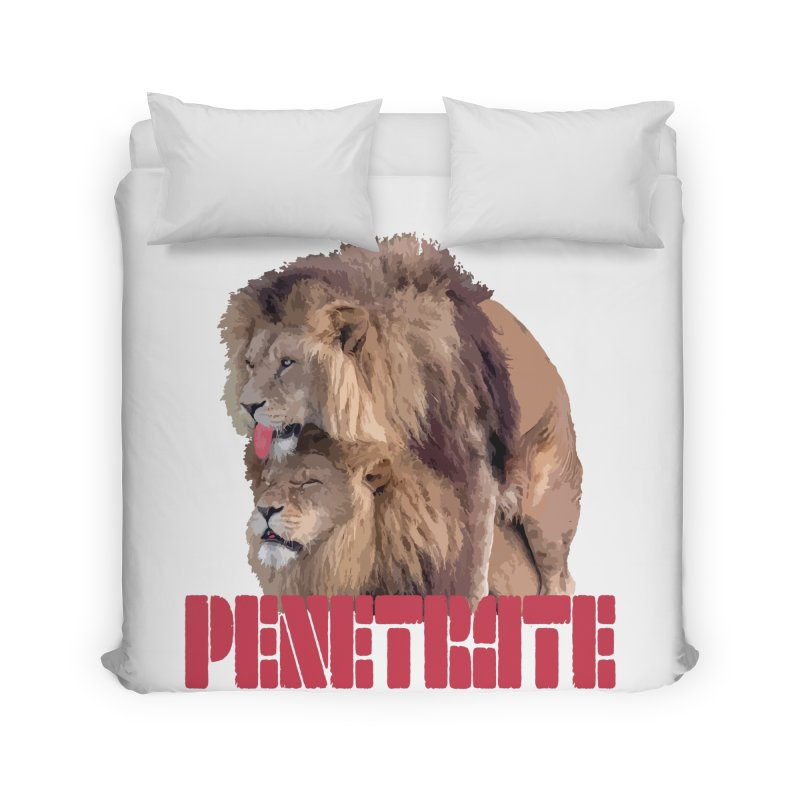 Penetrate Home Duvet by Inappropriate Wares