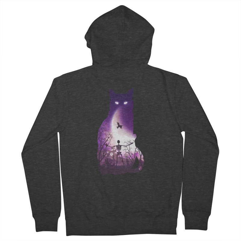 Fright Night Men's Zip-Up Hoody by DVerissimo's