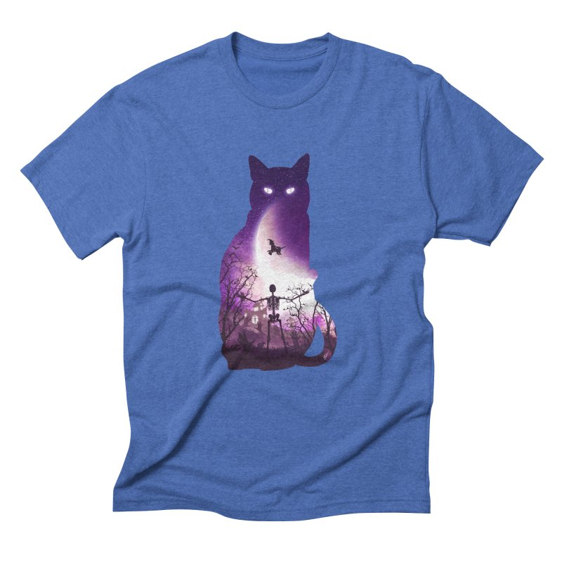 Fright Night Men's Triblend T-Shirt by DVerissimo's