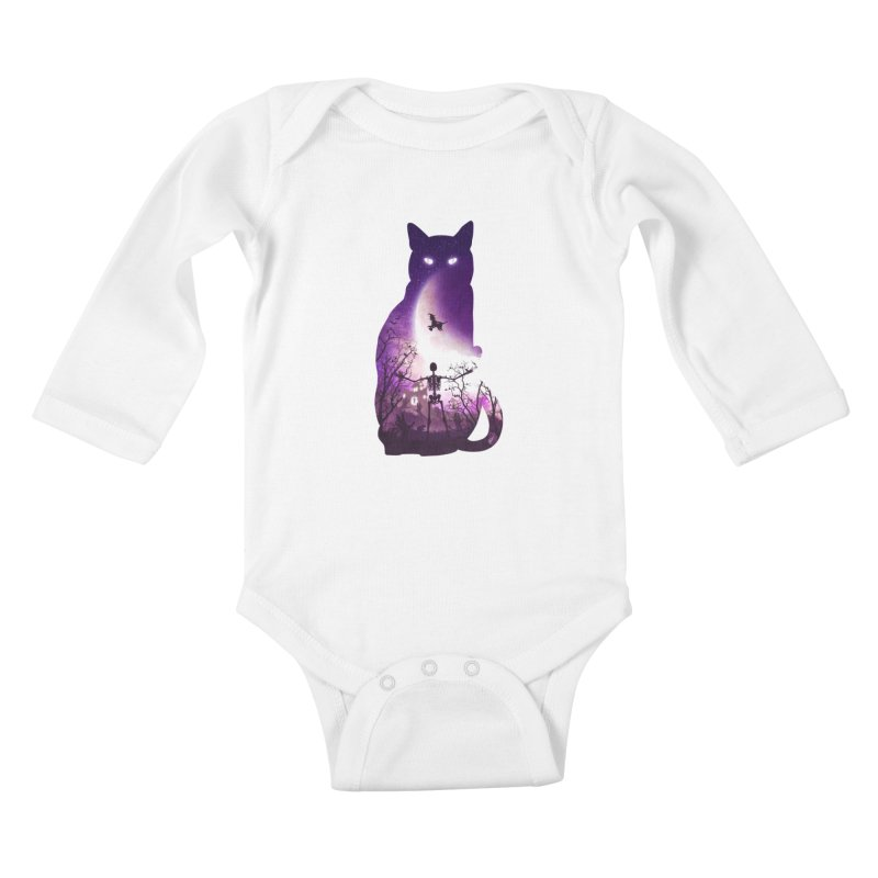 Fright Night Kids Baby Longsleeve Bodysuit by DVerissimo's