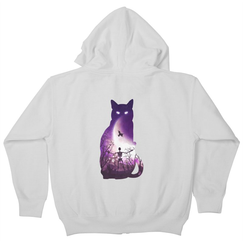 Fright Night Kids Zip-Up Hoody by DVerissimo's
