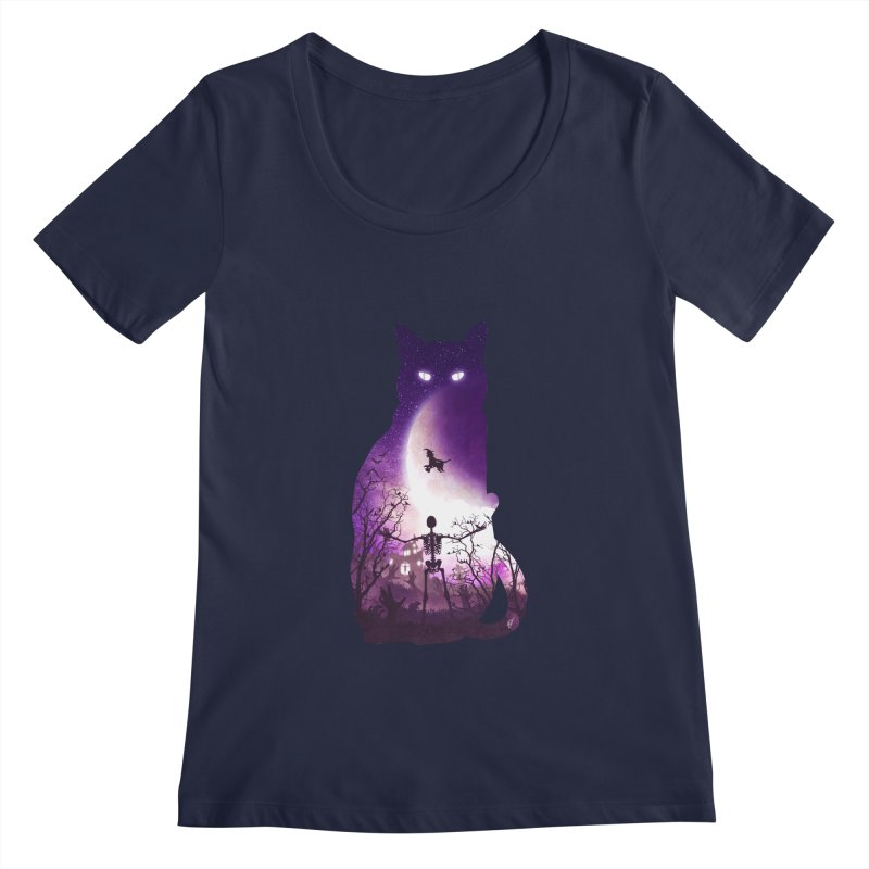 Fright Night Women's Scoopneck by DVerissimo's