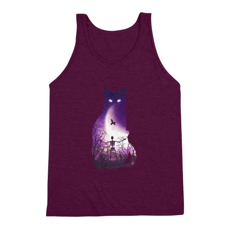 Fright Night Men's Triblend Tank by DVerissimo's