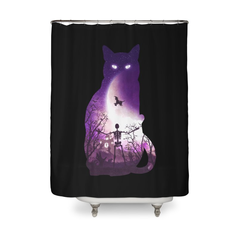 Fright Night Home Shower Curtain by DVerissimo's