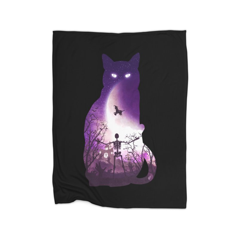 Fright Night Home Blanket by DVerissimo's
