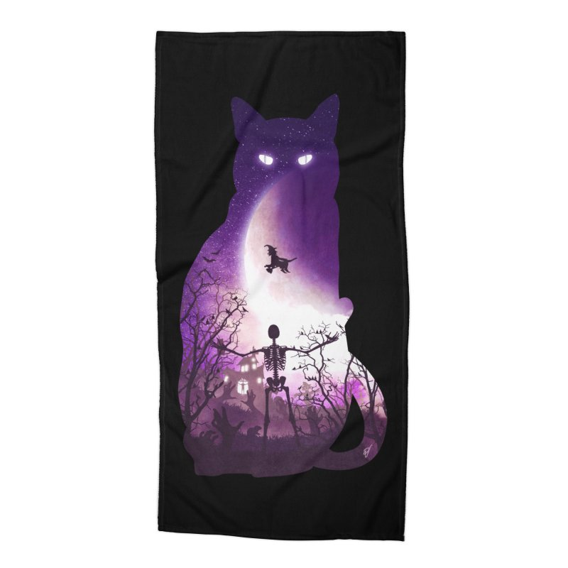 Fright Night Accessories Beach Towel by DVerissimo's